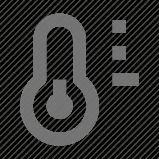 kitchen, thermometer icon