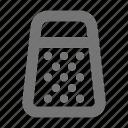 grater, kitchen, shredder icon