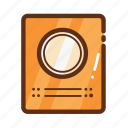 cooker, home, induction, kitchen icon
