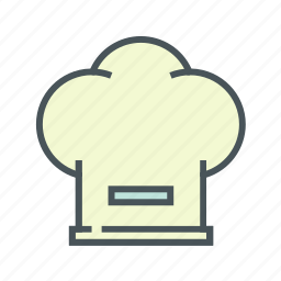 cap, chefs, cooking, kitchen icon