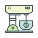 cooking, kitchen, mixer icon