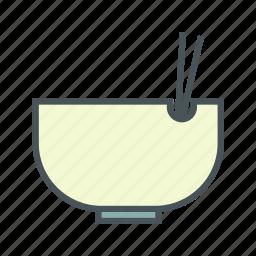 bowl, cooking, kitchen, salad icon
