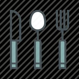 cooking, kitchen, silverware icon
