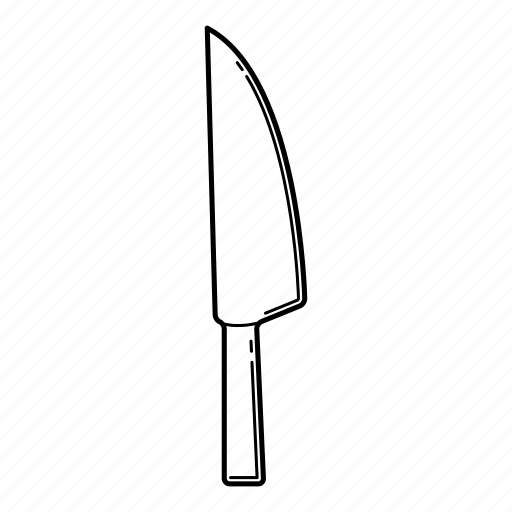 chef knife, cook knife, kitchen, kitchenware, knife, utensil icon