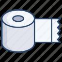 toilet, paper