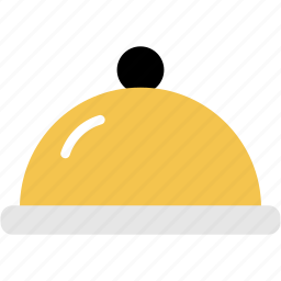 chafer, cover, dish, food, plate, restaurant icon