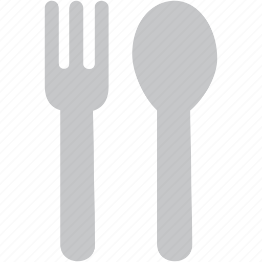 cutlery, fork, kitchen, restaurant, spoon icon