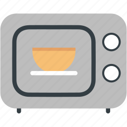 appliance, baking, electronics, food, kitchen, microwave, oven icon
