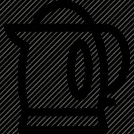 appliance, electric, kettle, kitchen, tea icon
