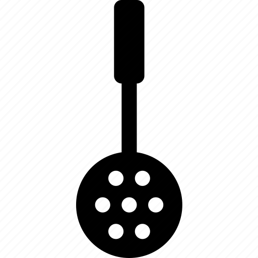 chef, holes, kitchen, kitchenware, spoon, spotted, tool icon