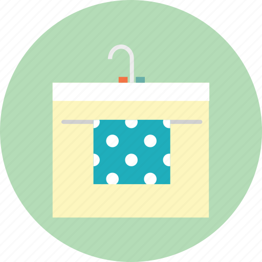 clean, hand towel, sink, water icon