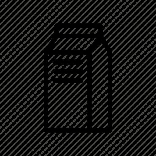 beverage, bottle, drink, milk, milk carton, milk pack icon