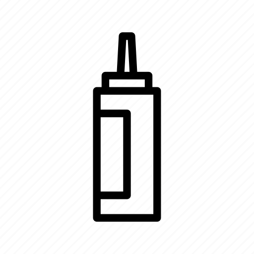 bottle, condiment, ketchup, sauce icon