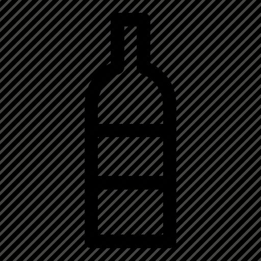 alcohol, bottle, drink, drunkenness, kitchen, vodka icon