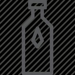 bottle, drink, empty, fluid, milk, water, wine icon