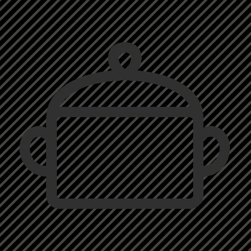 cooking, cover, kitchen, pan, pot, saucepan, utensil icon