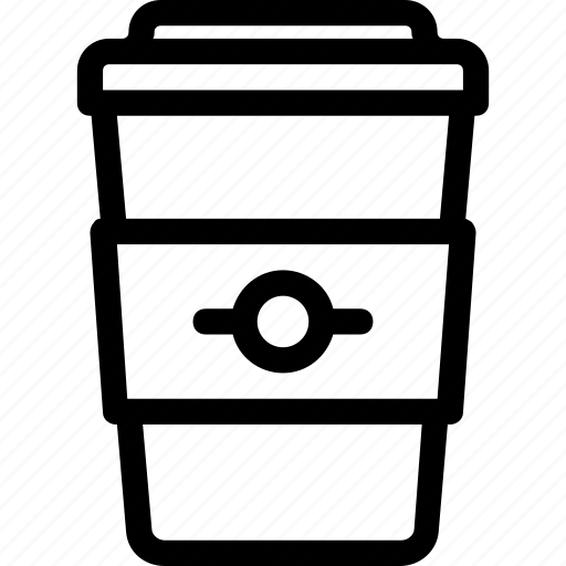 beverage, coffee, cup, drink, to go icon
