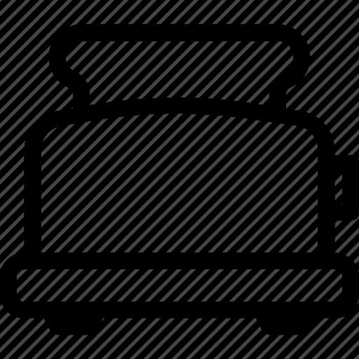 appliance, bread, food, kitchen, toaster icon