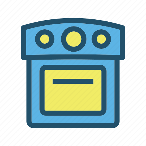 cook, eat, food, kitchen, oven, restaurant, stove icon