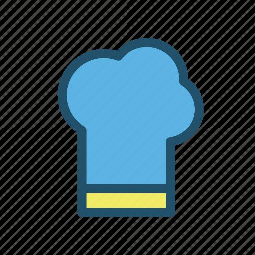 chief, cook, eat, food, hat, kitchen, restaurant icon