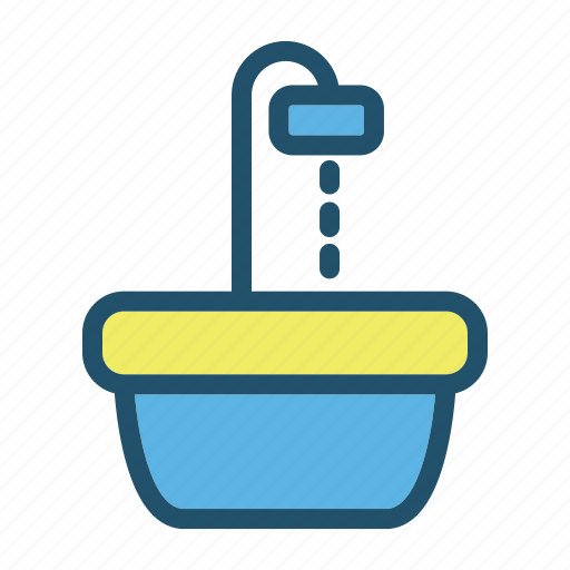 cook, eat, food, kitchen, restaurant, sink icon