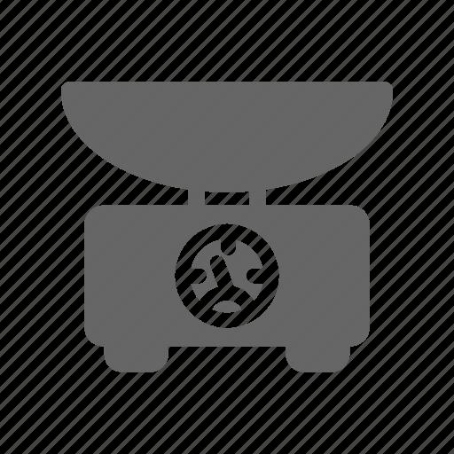 Balance, cook, food, kitchen, restaurant, scales, weigher icon - Download on Iconfinder