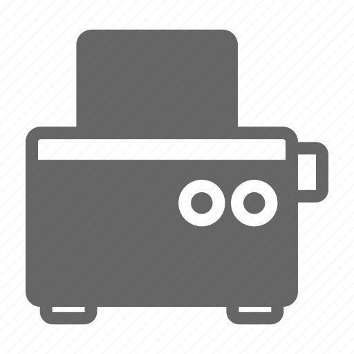 Bread, cook, eat, food, kitchen, restaurant, toaster icon - Download on Iconfinder