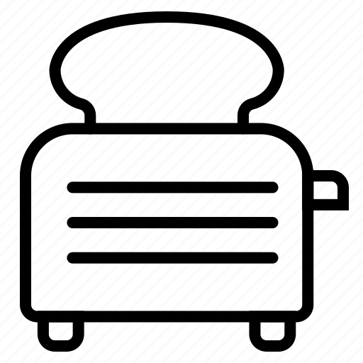 Appliances, kitchen, toast, toaster icon - Download on Iconfinder