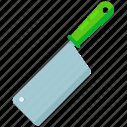 appliance, blade, butchers, chop, kitchen, knife icon