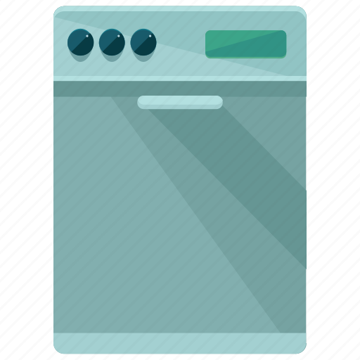appliance, dishwasher, equipment, kitchen, machine icon