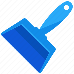 appliance, clean, cleaning, dustpan, kitchen, sweep icon