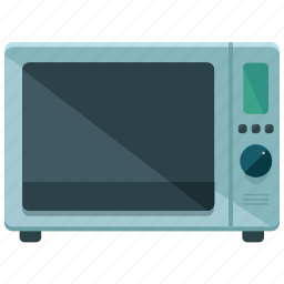 appliance, cook, heat, kitchen, microwave icon