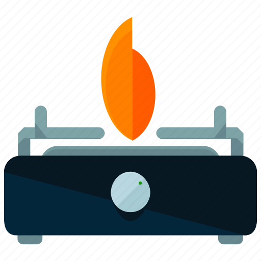 appliance, burner, gas, kitchen, small, stove icon