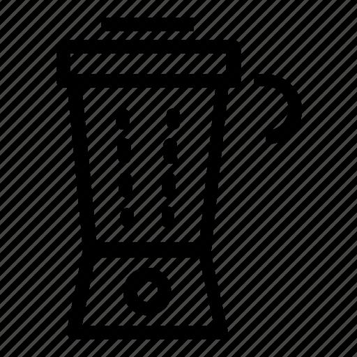 appliance, blender icon