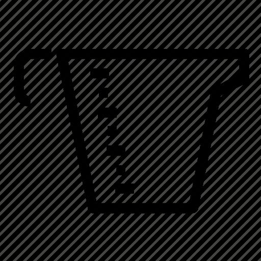 cup, measuring icon