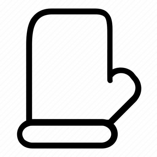 glove, oven icon