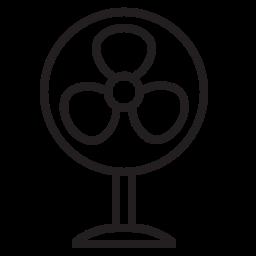 air, appliances, blow, breeze, cool, fan, wind icon