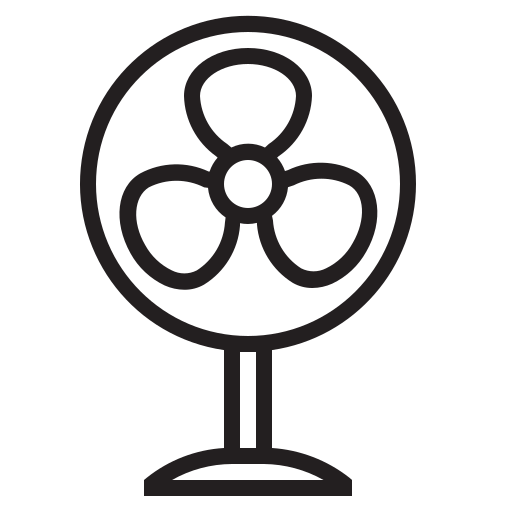 Air, appliances, blow, breeze, cool, fan, wind icon - Free download