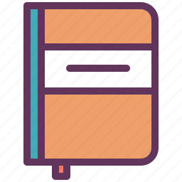 book, cooking, food, menu, notebook, recipe, restaurant icon