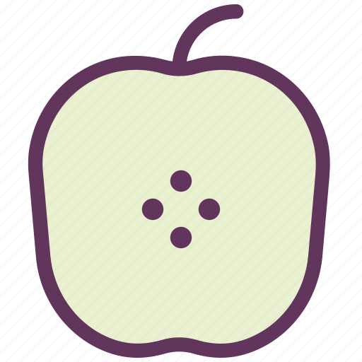 apple, breakfast, dessert, eat, food, fruit, sweet icon