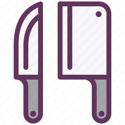 cook, cooking, equipment, kitchen, knives, restaurant, tools icon
