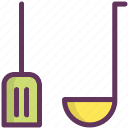 cook, cooking, kitchen, restaurant, scoop, shovel, tool icon