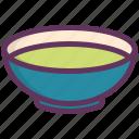 bowl, dinner, food, liquid, plate, restaurant, soup icon