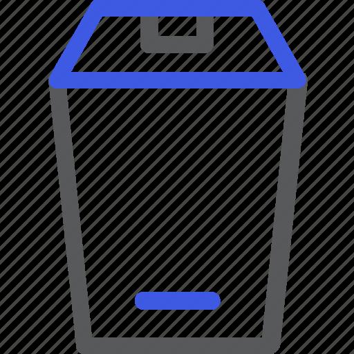 cook, cooking, kitchen, trash, trash bin, utensil icon