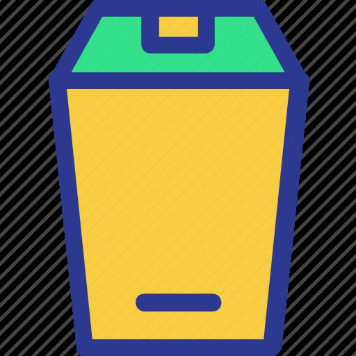 cook, cooking, kitchen, spam, trash bin, utensil icon