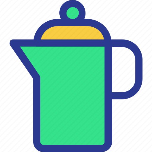 cook, cooking, kitchen, pitcher, utensil icon