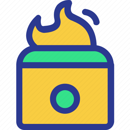 cook, cooking, fire, kitchen, stove, utensil icon