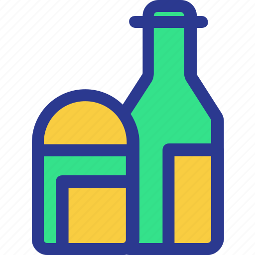 bottle, cook, cooking, ingridients, kitchen, utensil icon