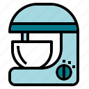 bake, blender, egg, kitchen, mixer icon