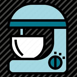 bake, blender, egg, kitchen, mixer icon